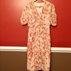 Sundance Silk Floral Dress